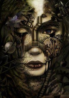 Steam On ❀Steampunk — pinterestsourceartist ~Steampunk Love •❀• From...