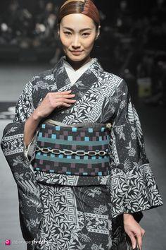 140319-7647 - Autumn/Winter 2014 Collection of Japanese fashion brand JOTARO SAITO on March 19, 2014, in Tokyo.