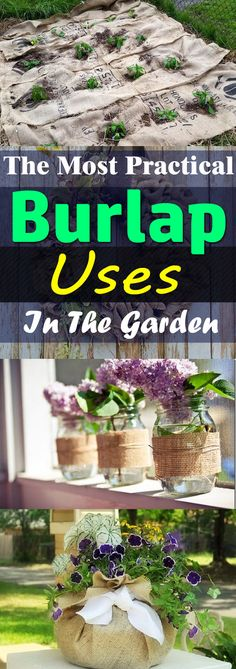 Diys travel natural remedies and recipes from the most practical burlap uses to the diy and crafts for home and garden solutioingenieria Images