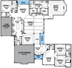 Luxury Living On One Level - 36349TX | European, Mediterranean, Photo Gallery, 1st Floor Master Suite, Butler Walk-in Pantry, CAD Available, MBR Sitting Area, Media-Game-Home Theater, PDF, Split Bedrooms, Corner Lot | Architectural Designs