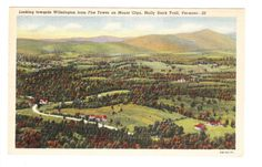 Wilmington Vermont Vintage Postcard unused by PicturesFromThePast