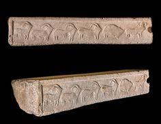 Relief Depicting Procession of Animals Globigerina Limestone. H. 34, L. 110.0, D. 22.0 cm Tarxien South Temple (Malta), Temple Period, 3600–2500 bce