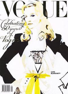 Vogue cover/Cate Blanchett