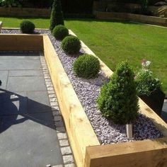62 Amazingly fresh garden and backyard landscaping ideas Give your garden or front yard a fresh look this season with these wonderful garden design ideas. - World Garden Landscaping Area Back Garden Design, Fence Design, Patio Design, Backyard Fences, Backyard Landscaping, Landscaping Ideas, Patio Ideas, Backyard Ideas, Diy Patio