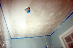 refinishing popcorn ceilings. (test for asbestos if the house was built before 1978)