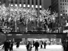 Ice Skate at Rockefeller Center.