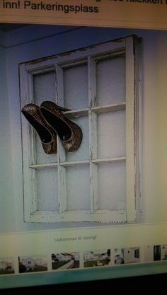 Old window shoeholder