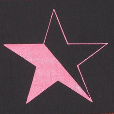 Feminist & Queer Anarchy Star Patch  Pink on by phoenixcompost, $5.00