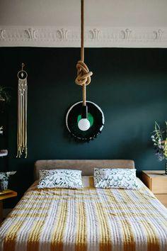 peinture chambre vert et gris.html