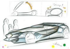 "The design by Mr. Ikeo had won the Subaru Design Award from the 2nd Ultimate Car Design Battle! The theme was to design ""A Car Driven By Young People in 2050,"" and competitors required to sketch cars within a time limit of 30 min by using only pen and markers. You will see the event report on our website: http://cardesignacademy.com/magazine/cardesignbattle2016.html #sketch #automotive #automotivedesign #instadaily #carstagram #instacars #cars #cargram #drawing #carsketch #copic #instadesign"