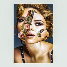 • Scarlett Johansson   #collage #collageart #art #visualarts #collageartwork