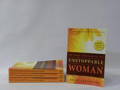 Unstoppable woman, Britt Santowski,$15  www.barkingdogstudio.ca
