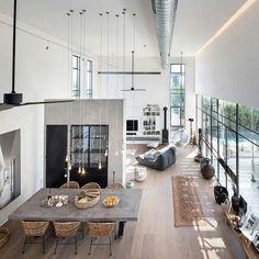 Gorgeous loft | my ideal home... | Bloglovin'