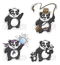 New cartoon stock illustrations at http://www.tibilis.com/stock