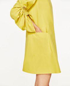 Image 2 of POPLIN DRESS from Zara