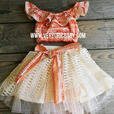 The Fun set is perfect for your little Moana fan. Skirting is fully twirly and this top can be worn on or off the shoulders. The sash is sewn into. Moana Birthday Outfit, Moana Birthday Party, Moana Party, Birthday Party Outfits, Birthday Dresses, Birthday Ideas, 8th Birthday, Birthday Parties, Happy Birthday