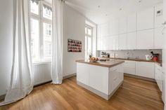 Maison rénovée - Contemporary - Kitchen - Lyon - by Alexandre Montagne - Photographe immobilier
