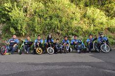 Drift trikes El Salvador team!