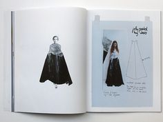 Fashion Sketchbook - printed dress design development - fashion drawings…