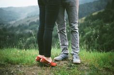 This engagement shot, would be a must! TOMS!