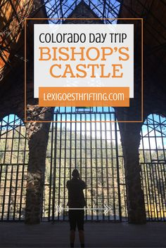 Looking for a day trip from Denver, Colorado? Bishop's Castle is a short mountain drive and a world away. Pay a visit to Colorado's very own castle - it's hours from Denver, so next time we're out there. Bishops Castle Colorado, Castle Rock Colorado, Road Trip To Colorado, State Of Colorado, Colorado Hiking, Colorado Mountains, Colorado Springs, Lone Tree Colorado, Denver Travel