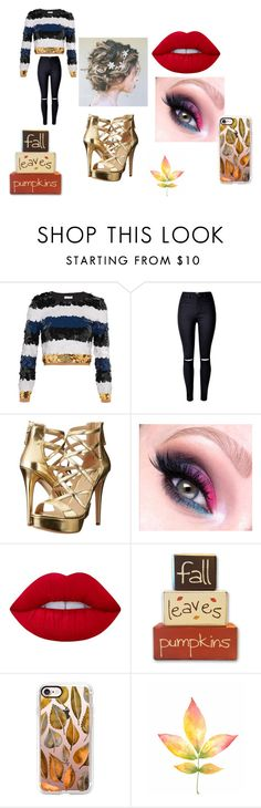 """Fall Beauty"" by cabre8500 on Polyvore featuring Sonia Rykiel, GUESS, Lime Crime and Casetify"