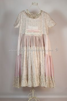 Dress VILMA from Nadir Positano SS 2015 shabby chic, boho chic, lagenlook, mori girl