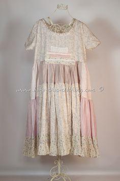 Dress VILMA from Nadir Positano SS 2015 shabby chic, boho chic, lagenlook, mori girl