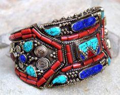 GRATIS verzending Nepalees Tibetaanse armband door CraftEastShop