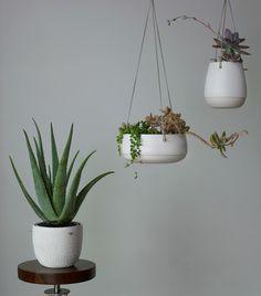 Pierced Hanging Planter // Pigeon Toe Ceramics