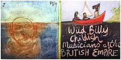 Peter Doig - Wild Billy Childish & The Musicians of The British Empire | 1stdibs.com