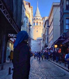 #galata #tower #kule #istanbul Istanbul, Times Square, Tower, Street View, Travel, Instagram, Viajes, Computer Case, Towers