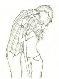 Image result for pencil drawing boy and girl best friends