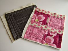 Lily's Quilts: Quilt As You Go – joining the blocks