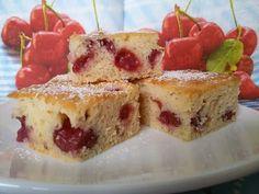 Jogurtova pita s češnjami - Leaneen French Toast, Cheesecake, Paleo, Gluten Free, Breakfast, Food, Celiac, Twitter, Birthday
