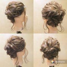 「二次会 髪型 ロング」の画像検索結果