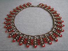 30' lu hapishane işi (takı tasarımı) / Bead crochet mastering ( jewelery design) - YouTube