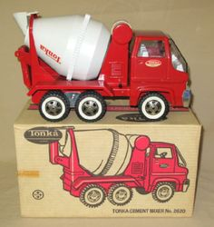1960's Tonka COE Cement Mixer Truck #2620 in Closed Box