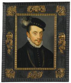 Studio of François Clouet                                TOURS (?) CIRCA 1516 - 1572 PARIS                                PORTAIT OF CHARLES III, DUC DE LORRAINE ET BAR (1543 - 1608)
