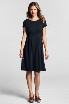 I need a dress for our niece's wedding. This might be too informal, but dressed up with a nice pair of shoes and some accessories? BTW, I'm short, so it would probably be mid-calf on me.