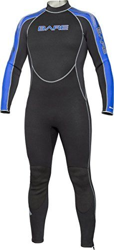 Bare 3mm Mens Velocity Full Wetsuit Blue XLargeShort ** You can get more details by clicking on the image. This is an Amazon Affiliate links.