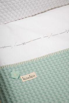 Waffle duvet cover 'Lots of kisses' | Koeka webshop