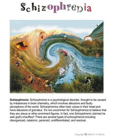 Learn more about kids and Schizophrenia. Visit https://www.learningdifferencesworld.com/ #Schizophrenia