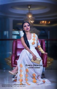 Ethiopian beauty with traditional cloth                                                                                                                                                                                 More