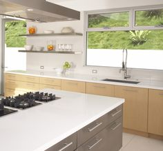 Create the perfect modern kitchen to suit your needs with Caesarstone countertops.