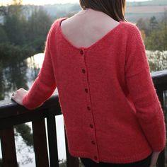 Modèle de tricot - Pull Sur un nuage de Lili Comme Tout