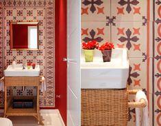 In House Designers de Interiores - Sua casa redecorada em menos de uma semana. É possível? Sim: http://www.casadevalentina.com.br/blog/detalhes/in-house-id-2954 #decor #decoracao #interior #design #casa #home #house #idea #ideia #detalhes #details #style #estilo #cozy #aconchego #conforto #casadevalentina #bathroom #banheiro #lavabo