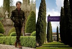 The Essentialist - Fashion Advertising Updated Daily: Ralph Lauren Purple Label Ad Campaign Fall/Winter 2014/2015