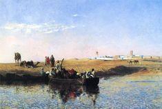 Edwin Lord Weeks, Scene at Sale, Morocco