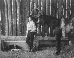 Women in ranching.